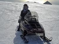 На снегоходе Polaris по Исландии