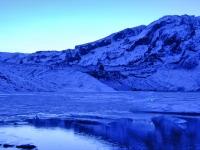 Ледниковая лагуна Lónið у подножья ледника Gígjökull