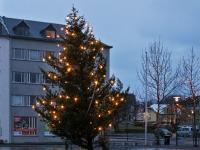 Рождественская елка в Рейкьявике