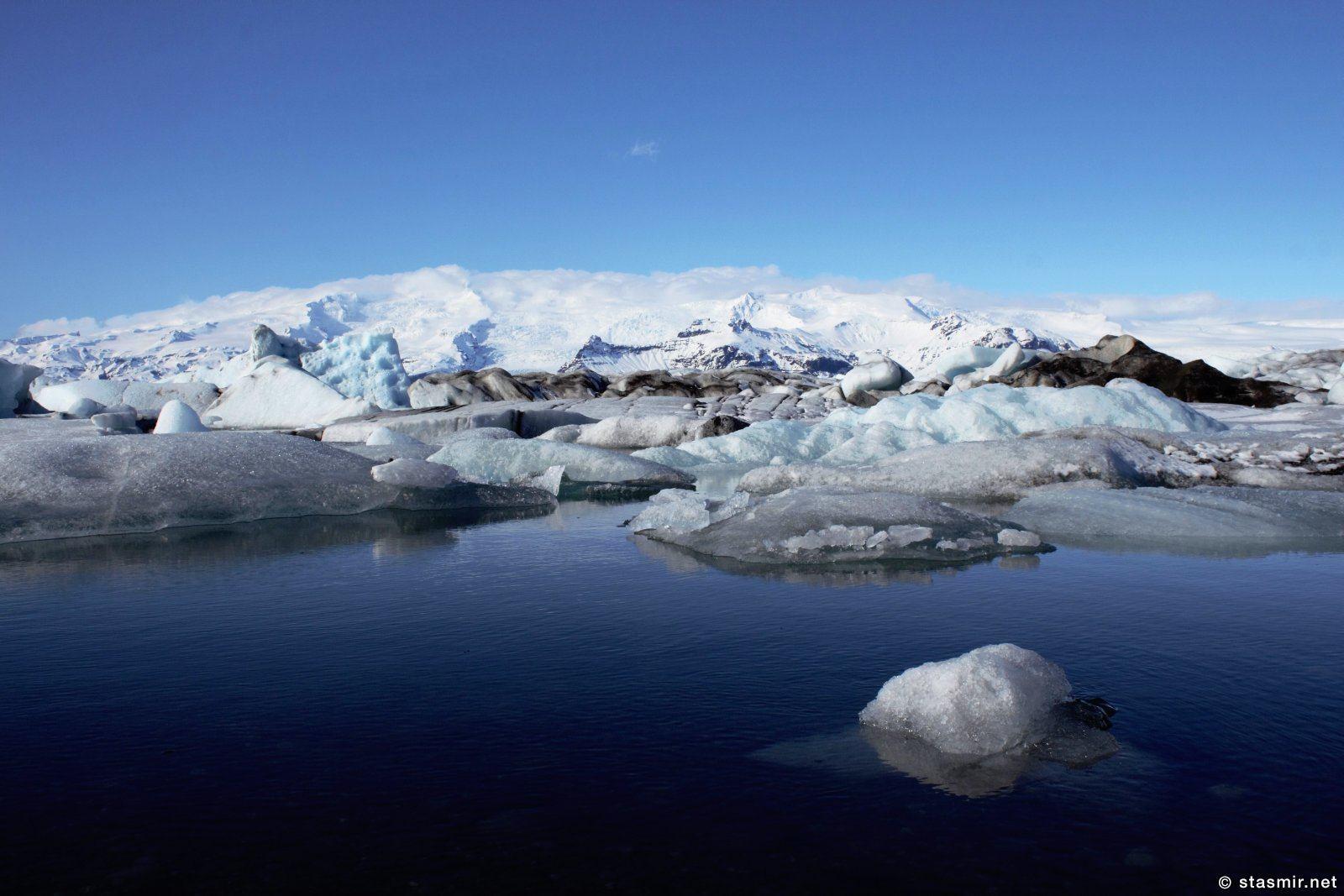 Glacier Lagoon, Jökulsárlón, Йёкюльсаурлоун, photo Stasmir, фото Стасмир