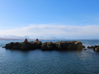 Зимняя Исландия с корабля из Стиккисхолмура, фото Стасмир, photo Stasmir