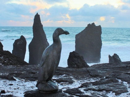 Последняя бескрылая гагарка, полуостров Рейкьянес, фото Стасмир, Photo Stasmir