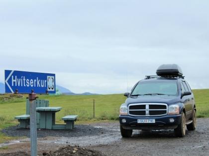 Hvítserkur, Белый стог, Белый слон, западная Исландия, Dodge Durango, Photo Stasmir, фото Стасмир