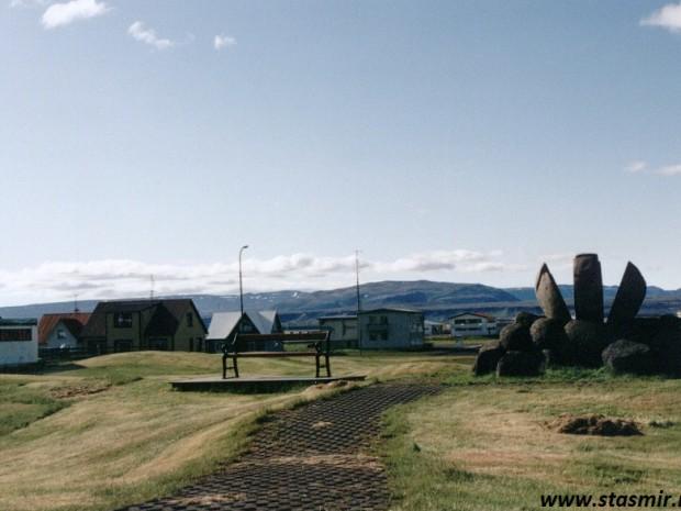 Исландия, скульптура
