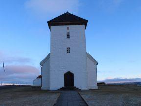 Церковь в Бессастадир - официальной резиденции президентов Исландии
