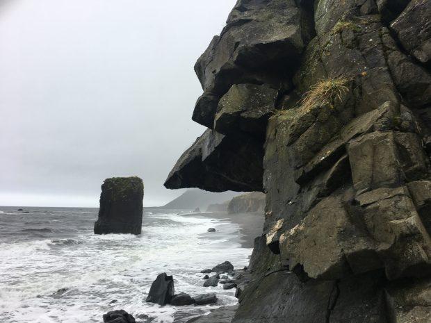 Скала на Восточных фордах Исландии, фото Стасмир, Photo Stasmir