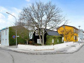 Домик в 101 Рейкьявик, купленный режиссером у музыканта, фото из исландской прессы