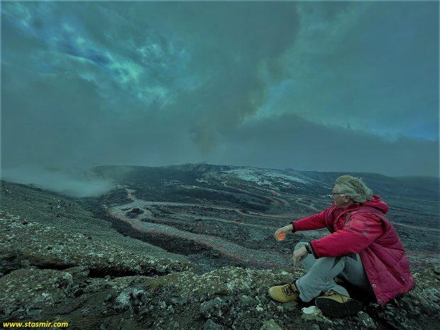 извержение вулкана в Исландии, фото Стасмир, photo Stasmir